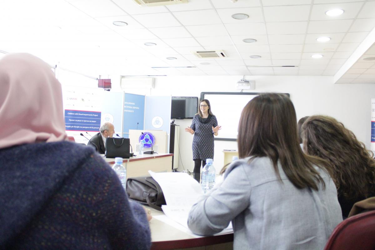 Training workshop with special educators